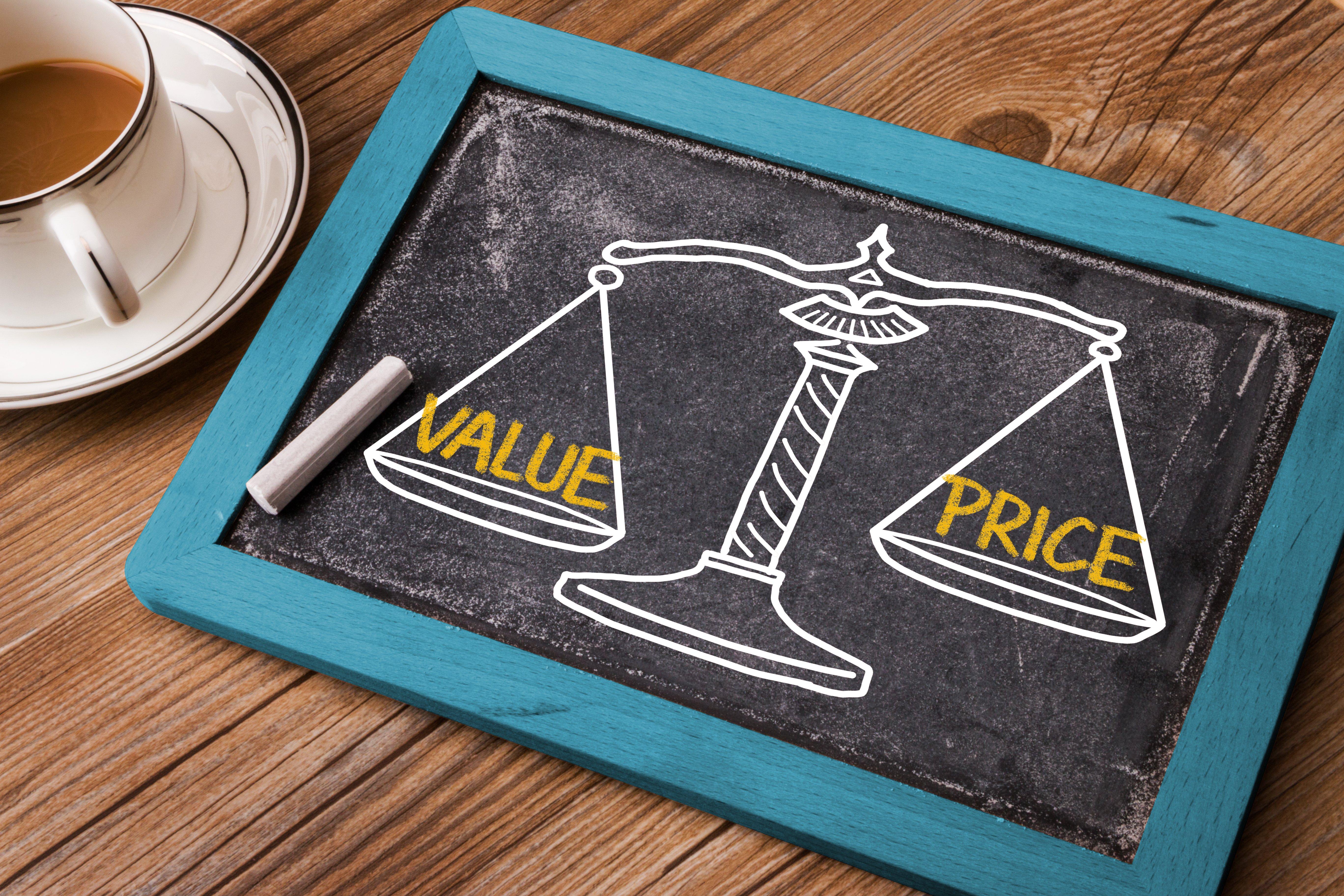 Er det prisen eller verdien som er viktig?