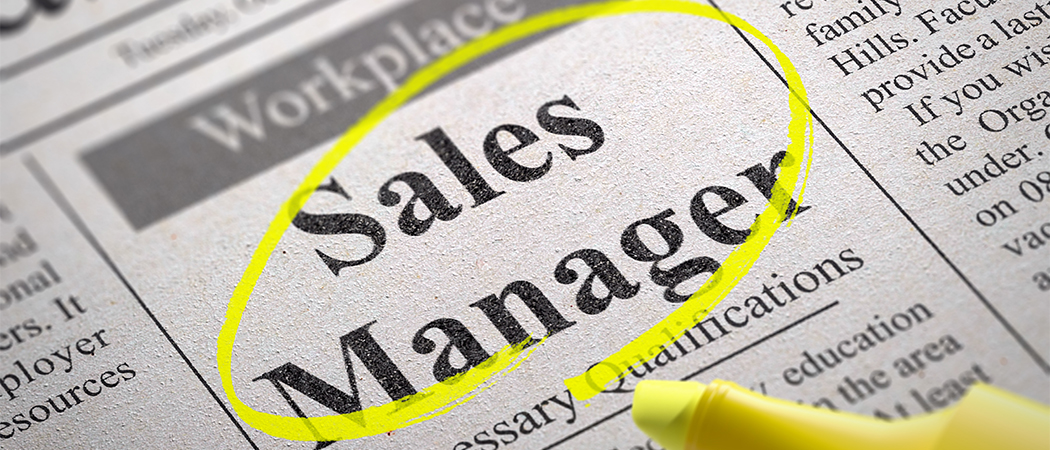 Sales manager 1
