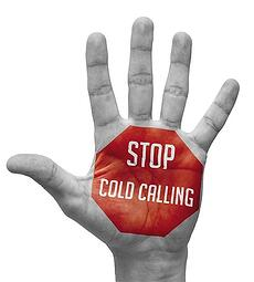 Stopp med cold calling