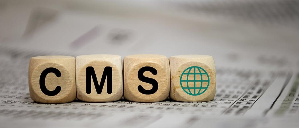 cms - wordpress eller HubSpot
